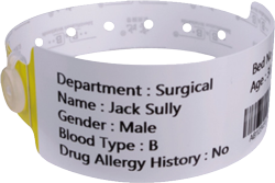 Healthcare-Barcode-Thermal-Printable-Wristband