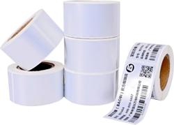 Barcode Thermal Transfer Silver Paper Label BLA0030 Series